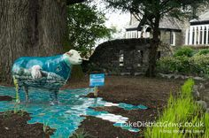 Meet Beatrix, one of the lovely ewes on the Go Herdwick public art trail in the Lake District. This lovely lady, by Thuline de Cock, is on display at the Cedar Manor Hotel and Restaurant, Windermere