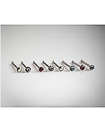Houndstooth Clear UV Double Flared WildKlass Ear Gauge Plug Sold as Pairs