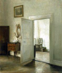 Carl Holsoe (Danese, 1863-1935): Interno
