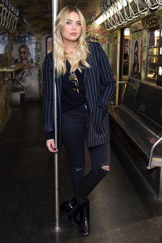 Ashley Benson Prive Revaux Fan Meet & Greet in #givenchy block heel! from @stylegoals's closet