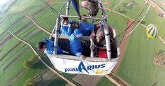 Desde el cielo todos los problemas se ven pequeños... ¡ ven a volar!  http://www.siempreenlasnubes.com/