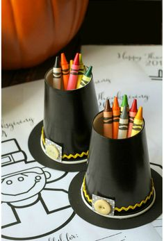61 Cute + Quirky Thanksgiving Crafts for Kids via Brit + Co