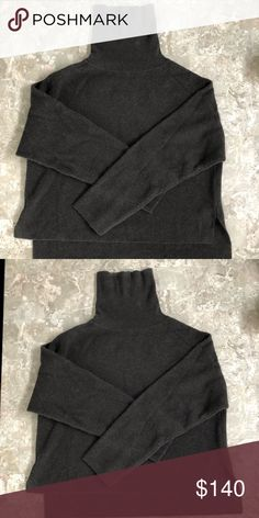 100% Cashmere Sweater 100% Cashmere Sweater, oversized, high low, slightly cropped Sweaters Cowl & Turtlenecks