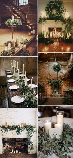 Candles | Candle Light | 10 Tips For a Stylish Winter Wedding | Christmas Wedding | Festive Wedding | December Wedding