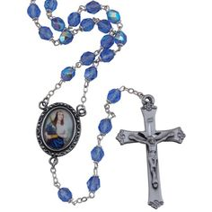 A lovely rosary in memory of St. Cecilia, patron saint of musicians.
