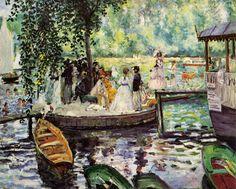 Pierre-Auguste Renoir - La Grenouillere, 1869