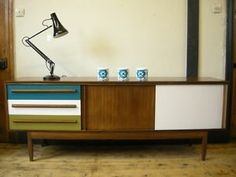 20th Century Retro Sideboard/TV/ Media Cabinet Upcycled/ Modern/Similar to Gplan