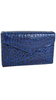 Blue Sapphire Business Card Envelope.