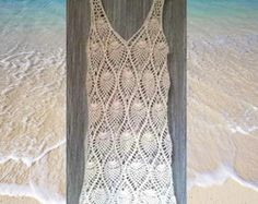 Vestido crochê varias cores com forro