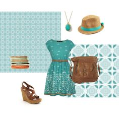 """Turquoise..."" by daniella-nagus on Polyvore"