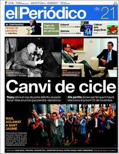 El Periódico de Catalunya - 2012/9/21