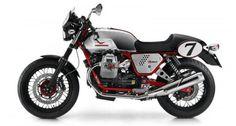 Moto Guzzi V7 Racer; nació para recordar la extraordinaria carrera deportiva de la V7 Sport.