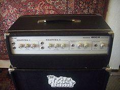 BLACKFIELD 800 R Bass-Amp Vollröhren-Verstärker+ Dynacord Box 60's Vintage