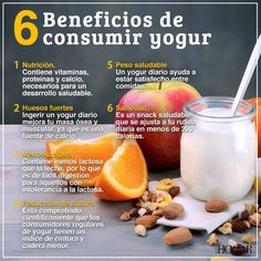 6 beneficios de consumir yogur