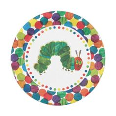Very hungry caterpillar plates, bowls & cups from Pottery Barn. We ...