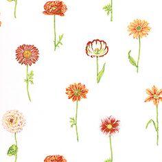 Thibaut Sweet Life - Picking Flowers - Fabric - Brights