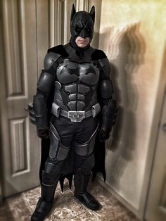 Batman Arkham Origins Costume Cosplay. Made this costume out of EVA foam. I've mapped out and photoshopped a couple improvements I plan to make towards the current costume... unless I decide to completely start again from scratch. Homemade diy