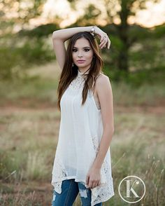 Meet Mod Squad '17 beauty and SHS Senior Kaitlyn! She was part of our Texas Style session. This season's trends are all about denim. Mix it with lace and you have Perfection! Love this look! . . .#kikiscornerphotography #classof2017 #senioryear #seniorlovin #seniorinspire #seniorstyleguide #seniorologie #posepatch #theseniorcollective #thetwelfthyear  #seniorchic #westtexasphotographer #midlandtexasphotographer #senioryearmagazine #kikiscornerphotography #modsquad2017 #texas