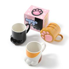 TORAENKO - This adorable mug looks exactly like a cat's paw! It even has cute little pads underneath just like your feline friend's feet. In a stylish calico cat color scheme, this amusing mug is sure to make you stand out around the office or just provide a bit of a pick-me-up at home!