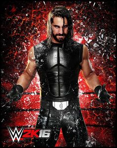 Seth Rollins en WWE 2K16 - twitter.com/wwegames