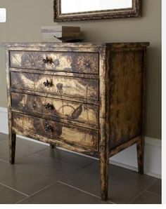 Gorgeous Painted Dresser