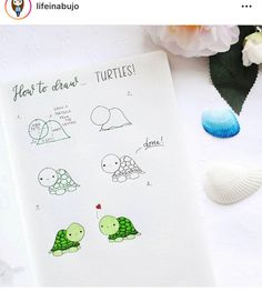 Zeichnungen mit Schritten - New Ideas Bullet Journal Writing, Bullet Journal Notebook, Bullet Journal Ideas Pages, Bullet Journal Inspiration, Kawaii Drawings, Doodle Drawings, Easy Drawings, Adorable Drawings, Kawaii Doodles