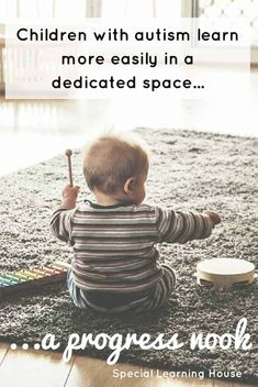 Create a dedicated learning space for your child with autism at home. Increase communication, learning and family fun in this adapted space! Autism Learning, Learning Spaces, Learning Activities, Kids Learning, Good Parenting, Parenting Hacks, Love Your Family, Modern Family, Routine Planner