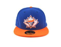 007b76c546c Custom NEW ERA x MLB Toronto Blue Jays 59Fifty Fitted Baseball Cap