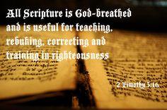 2 Timothy 3:16 NIV
