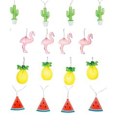 Keen on an untraditional Christmas tree this year? We have just the thing! fairy lights with the WOW factor!  #fairylight #christmaslights #cactus #flamingo #pineapple #watermelon #shutthefrontdoorstore