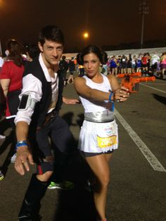 Han and Leia - for when I convince Jesse to do a Disney half marathon :)