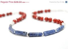 Red, White, and Blue by Phyllis on Etsy