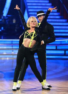 James Maslow and Peta Murgatroyd appear in a still from 'Dancing With The Stars' season 18 on May 20, 2014.