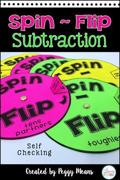 Math Fact Fluency Rotation System: Addition Subtraction ...