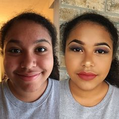 Makeup by me on sis