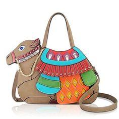 DARLING'S Camel Fashion Design Handbag Shoulder Bag
