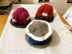 handknitted caps by siona For Sale in Galway : - DoneDeal. Clothes For Sale, Clothes For Women, Knitted Hats, What To Wear, Cap, Knitting, Stuff To Buy, Fashion, Outerwear Women