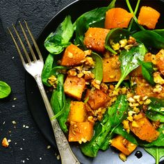 Cold weather calls for comfort food, and we've put together a delicious 3-course meal that'll keep you warm through Winter. Pumpkin & Walnut Spinach Salad Ingredients 600g … Continue reading Autumn warmers