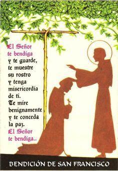 α JESUS NUESTRO SALVADOR Ω: El Señor te bendiga y te guarde. Bendición de San ...