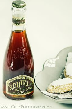 spuma italiana ~ a traditional Tuscan nonalcoholic beverage. It is a soft drink
