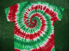 how to make a tie dye christmas tree