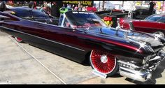 A way cool 59 Cadillac convertible I found at SEMA Car is cool from front to back. Sema 2015, Kustom, Cadillac, Muscle Cars, Hot Rods, Cool Cars, Convertible, Antique Cars, Trucks
