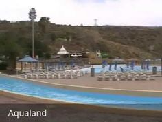 Places to see in ( Maspalomas - Spain ) Aqualand  Aqualand Maspalomas provides one of the perfect places for a family day out. At 130000 sq. metres. Aqualand Maspalomas is the biggest water park in Gran Canaria and provides fun for each and every member of the family with the most amazing aquatic entertainments.     Open all year round Aqualand Maspalomas pools alone cover an area of 5300 sq. meters and it boasts 33 slides and 13 fun attractions including Surf Beach Congo River Crazy Race…