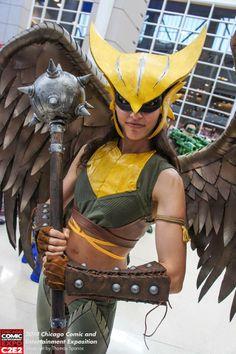Kyra Wulfgar as Hawkgirl