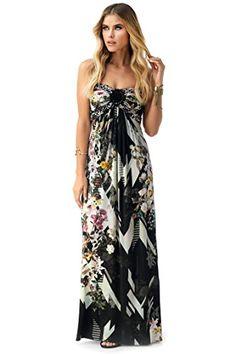 SKY Women's SAGA Maxi Dress Black