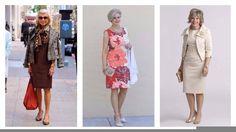 VESTIDOS PARA SEÑORAS DE 50 AÑOS 2017 #Moda #Mujer #Vestidos