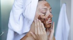 Happy National Coffee Day to my coffee aficionados out there! Let's talk about how to make coffee scrubs for the face and body. Coffee Face Scrub, How To Make Coffee, Face And Body, Scrubs, Light Auburn Hair, Facial, National Coffee Day, Let Them Talk, Skin Tips