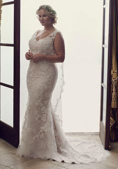 plus size wedding dresses 2016 court train summer wedding gowns beaded appliques v neck backless mermaid bridal gowns Summer Wedding Gowns, Beaded Wedding Gowns, 2016 Wedding Dresses, Wedding Dresses Plus Size, Plus Size Wedding, Wedding Attire, Bridal Gowns, Dresses 2016, Weding Dresses