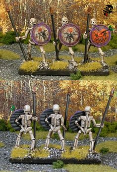 Undead - Hordes of the Things - 28mm - Miniature Figure painted by Neldoreth - An Hour of Wolves & Shattered Shields