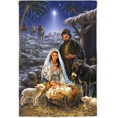 Remember the true meaning of Christmas with this beautiful puzzle. This gorgeous piece of artwork depicting the birth of Jesus and the coming of the 3 wise men is a truly awe-inspiring puzzle. Springbok Savior is Born Jigsaw Puzzle Christmas Nativity Scene, Christmas Scenes, Christmas Pictures, Christmas Crafts, Nativity Scenes, Nativity Scene Pictures, The Nativity, Merry Christmas Quotes, Holiday Images